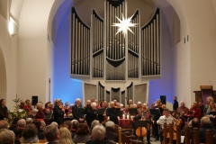 Christmas United bei voll besetzter Lutherkirche